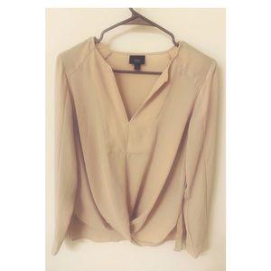 Professional blush blouse